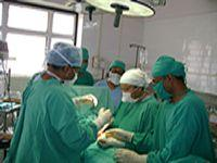 Gynec Surgeon Operating in Surgery OT
