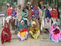 Group Photograph of Snehalaya Patients